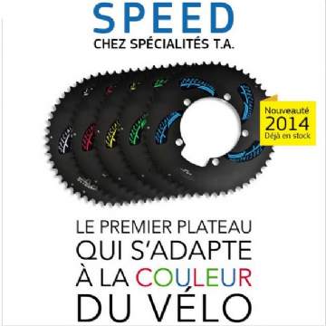 Plateau SPEED 130 shimano extérieur SPECIALITE TA